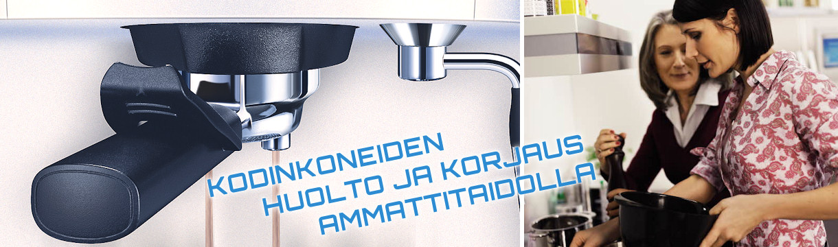 Kodinkoneiden huolto. Photo Copyright Electrolux. Permission to use granted